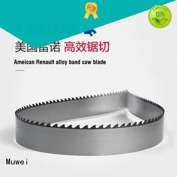Muwei low cost alloy band saw blade manufacturer for spindle moulder