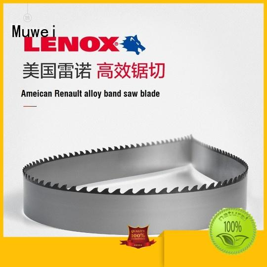 Muwei reliable band saw blade manufacturer for four side moulder