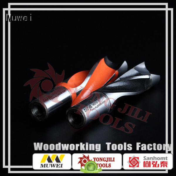 Muwei aluminum hole cutter customized for spindle moulder
