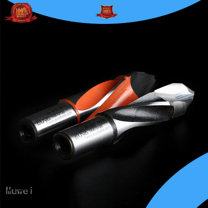 Muwei cutterhead metal drill bit customized for spindle moulder