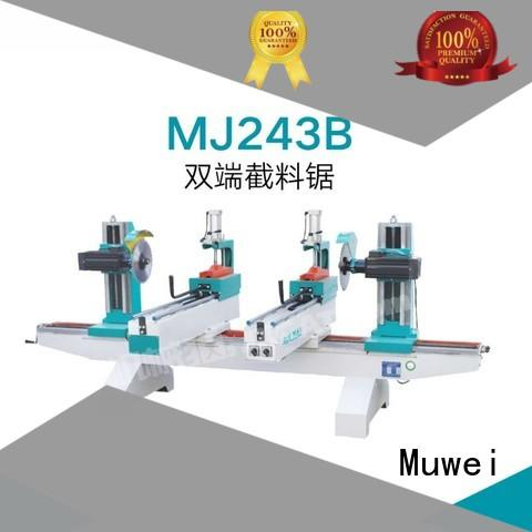 Muwei stellite alloy finger joint machine wholesale for frozen food processing plants