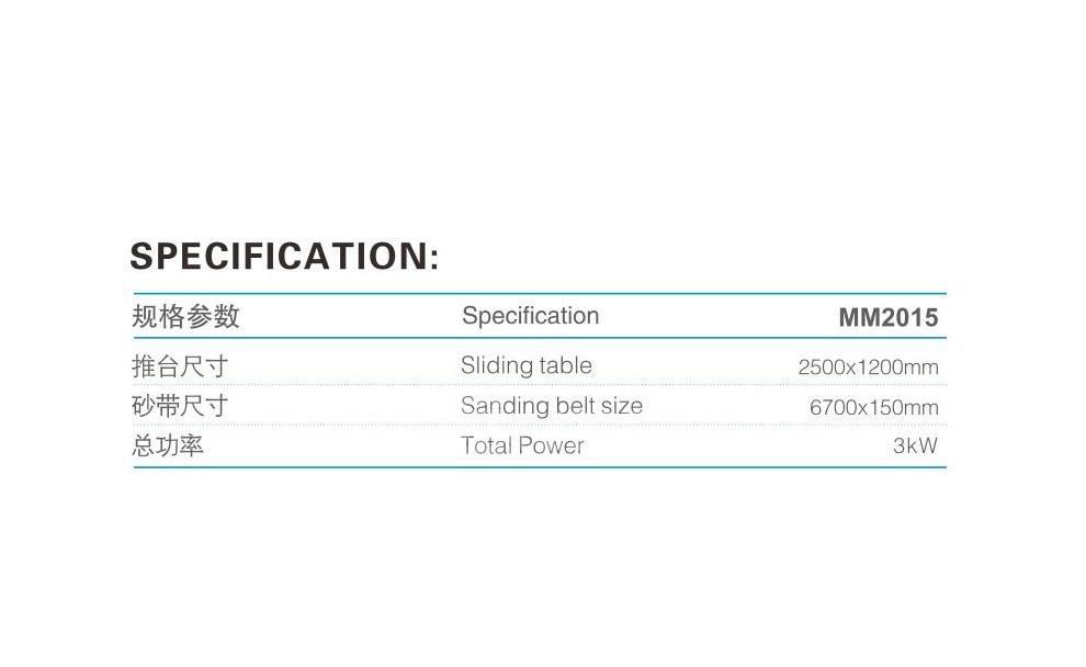 Muwei super tough belt sander supplier for wood sawing-2