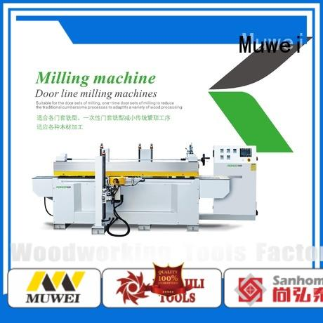 Muwei carbide industrial table saw factory direct for frozen food processing plants