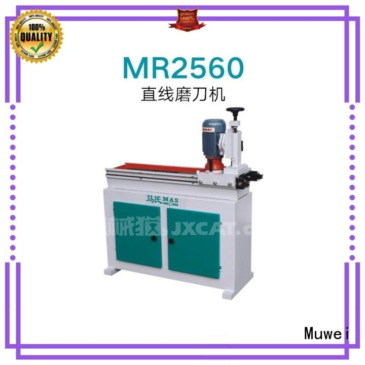 Muwei metal cutting finger joint machine price supplier for furniture