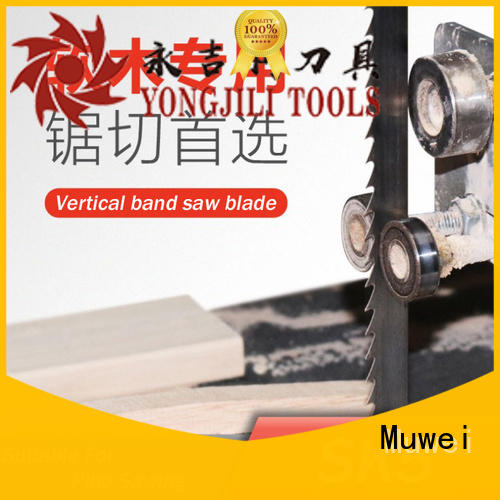Muwei steel best band saw blades wholesale for frozen food processing plants
