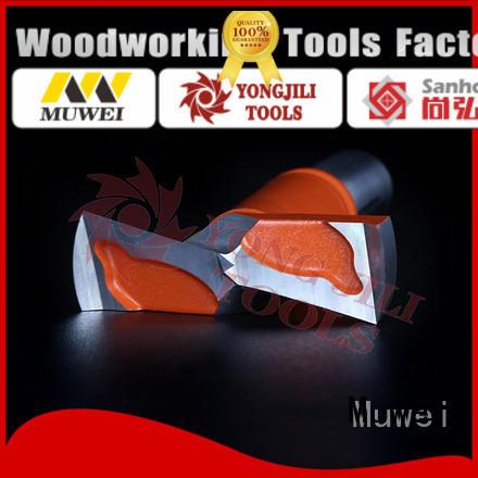 Muwei cutterhead wood drill bits customized for four side moulder