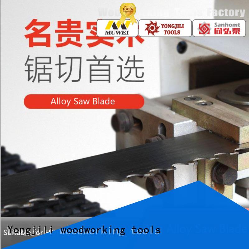 hot sale industrial band saw blades carbide alloy manufacturer for furniture