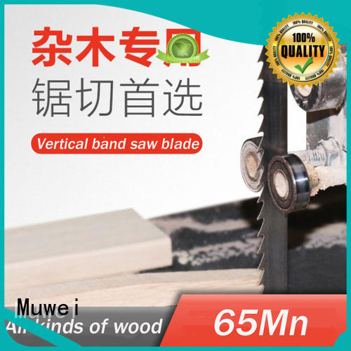 Muwei super tough 10 inch band saw blades wholesale for wood sawing