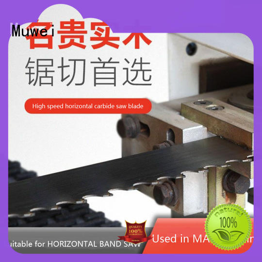 Muwei metal cutting best band saw blade for metal wholesale for wood sawing
