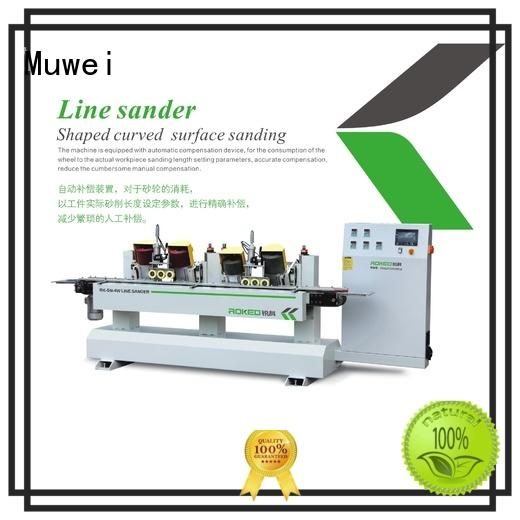 Muwei efficient precision grinding machine factory direct for wood sawing