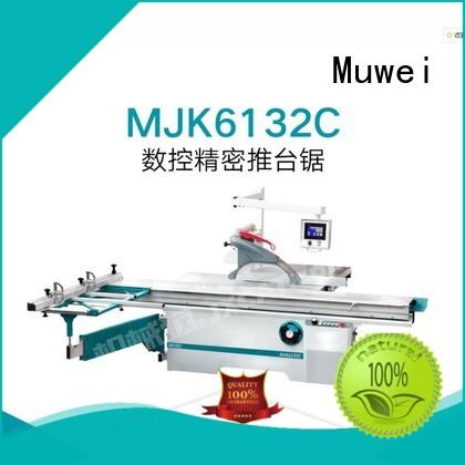 Muwei efficient wood finger joint machine wholesale for wood sawing