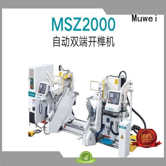 Muwei hot sale finger joint machine wholesale for wood sawing