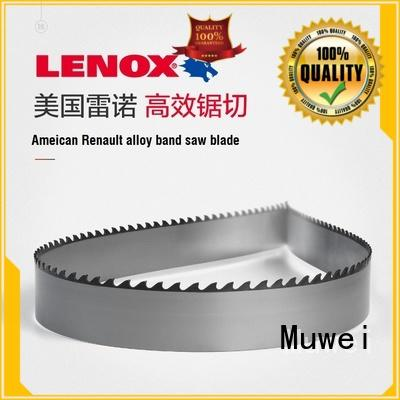 Muwei carbide alloy industrial band saw blades manufacturer for furniture