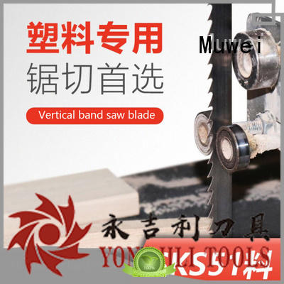 Muwei durable 80 inch band saw blade metal cutting supplier for wood sawing