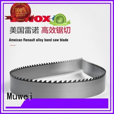 Muwei efficient 80 inch band saw blade metal cutting manufacturer for frozen food processing plants