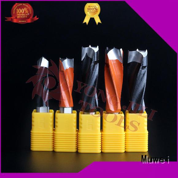 Muwei high quality long drill bits customized for shaping machine