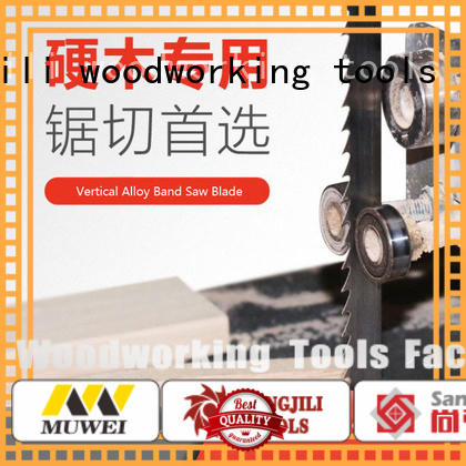 Muwei efficient steel cutting band saw blades supplier for wood sawing