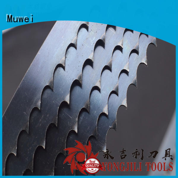 Muwei hard curve 80 inch band saw blade factory direct for wood sawing