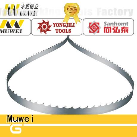 Muwei super tough metal cutting band saw blades supplier for furniture