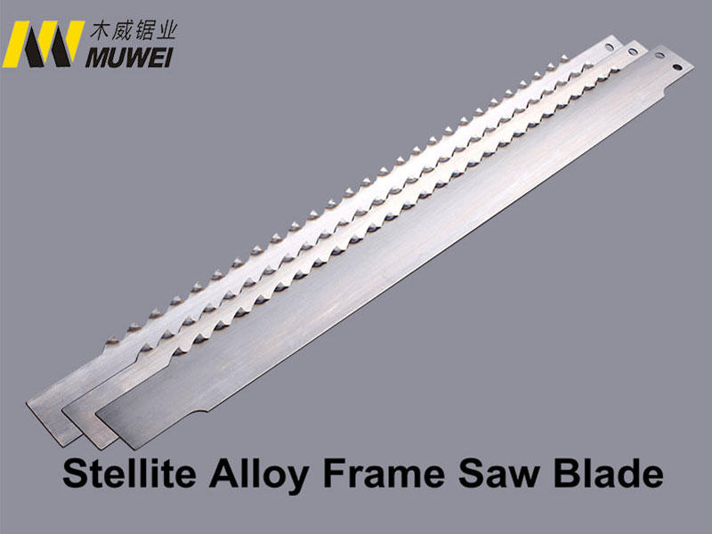 Muwei hot sale metal cutting band saw blades factory direct for furniture