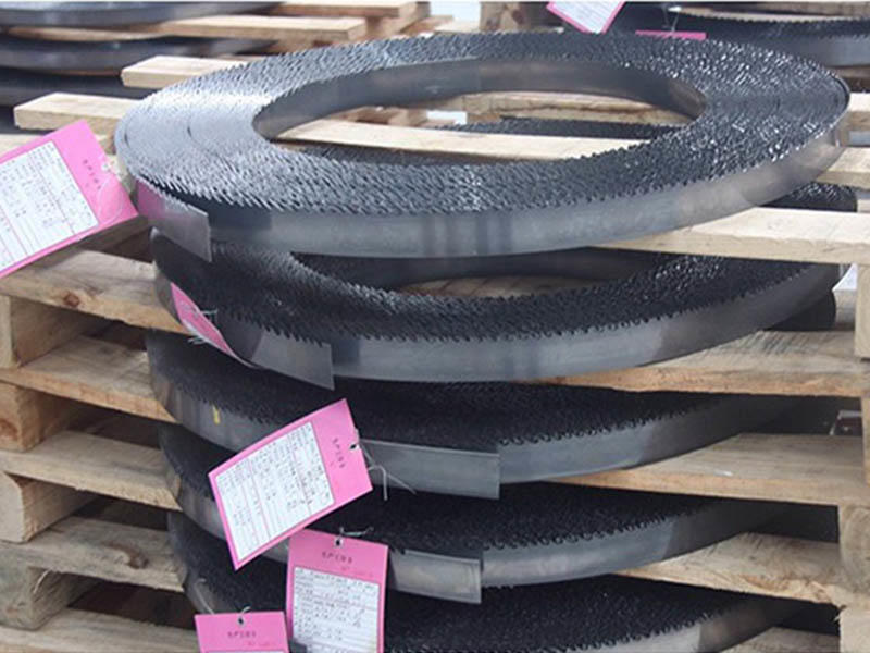 woodworking band saw blades steel for frozen food processing plants Muwei