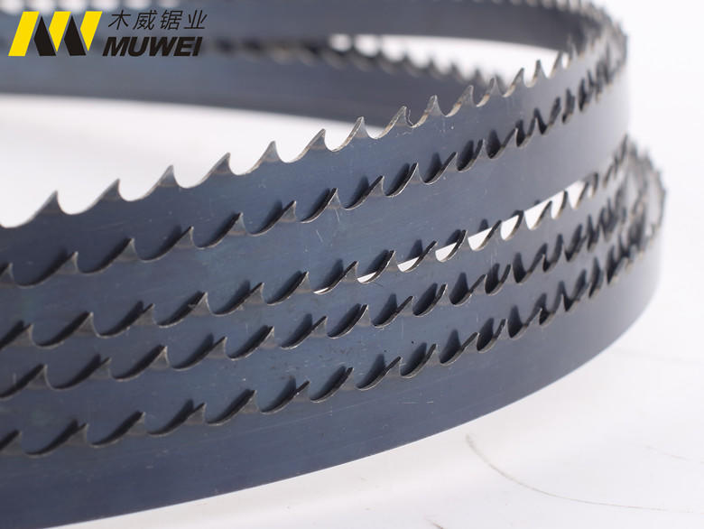 Muwei efficient metal cutting band saw blades manufacturer for frozen food processing plants