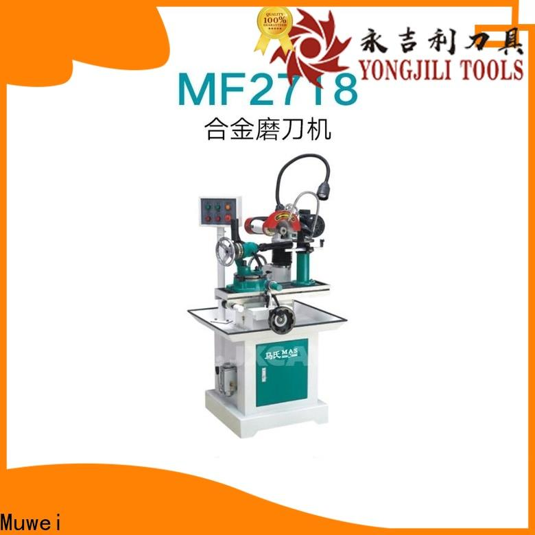 Muwei stellite alloy bench grinding machine manufacturer for frozen food processing plants