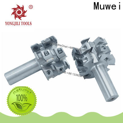 Muwei low cost helical cutterhead customized for four side moulder