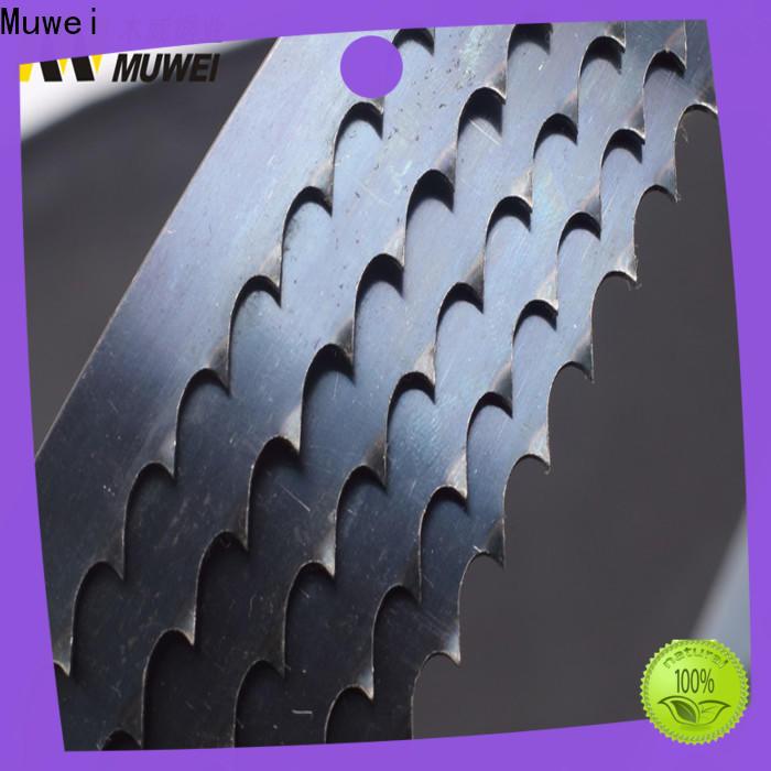 Muwei hard curve craftsman 12 inch band saw blades supplier for furniture