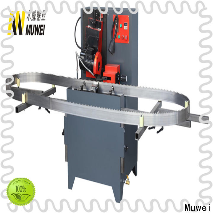Muwei durable band saw blade grinding machine supplier for frozen food processing plants