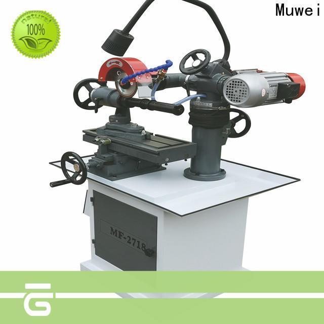 Muwei hard curve knife grinder manufacturer for frozen food processing plants