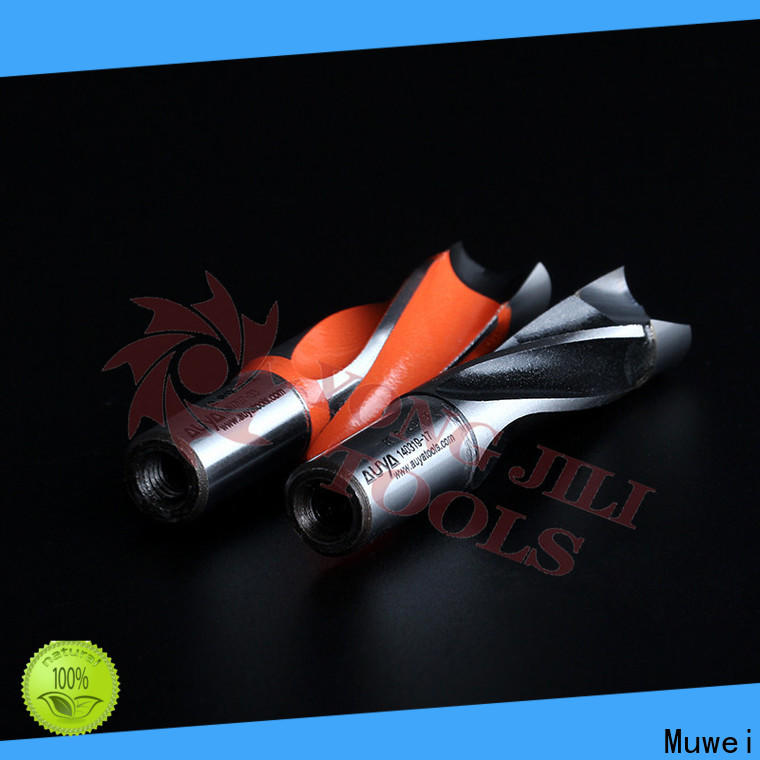 Muwei spiral hole drill bit supplier for four side moulder