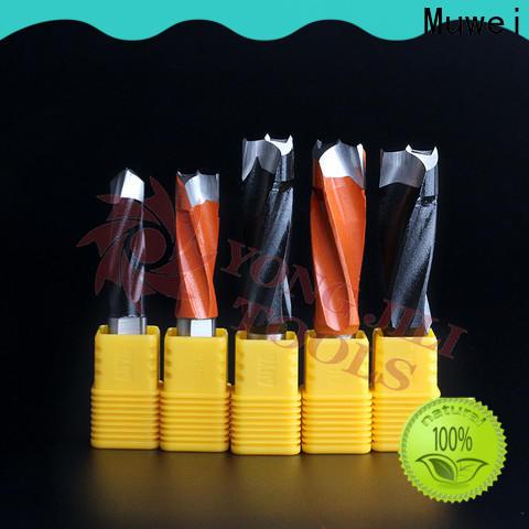 Muwei professional carbide drill bits OEM for spindle moulder