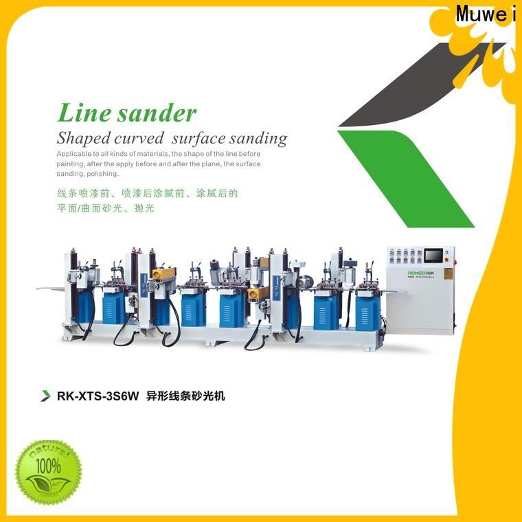 Muwei efficient bench sander manufacturer for frozen food processing plants