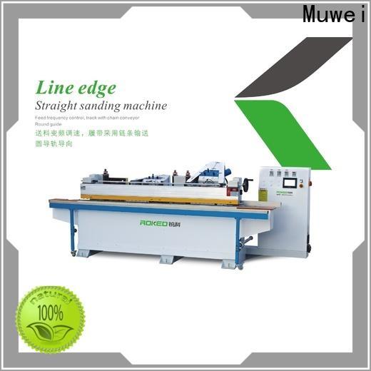 Muwei hot sale best belt sander supplier for frozen food processing plants