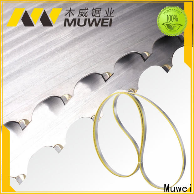 Muwei durable craftsman 10 inch band saw blades supplier for wood sawing
