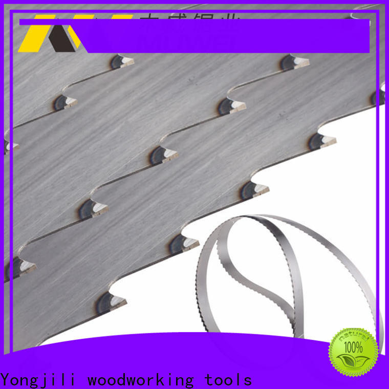 efficient band saw blade carbide alloy manufacturer for wood sawing