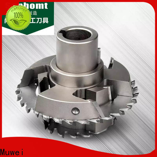 Muwei grooving powermatic spiral cutterhead wholesale for spindle moulder