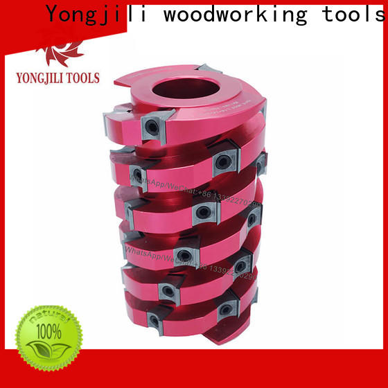 professional spiral Cutter Head TCT inserts light duty customized for spindle moulder