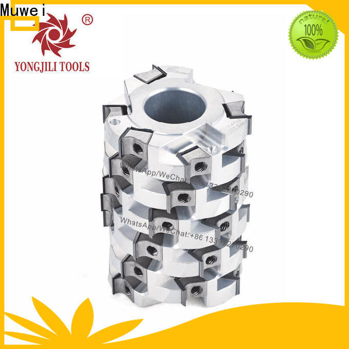 Muwei low cost spiral cutterhead planer factory direct for spindle moulder