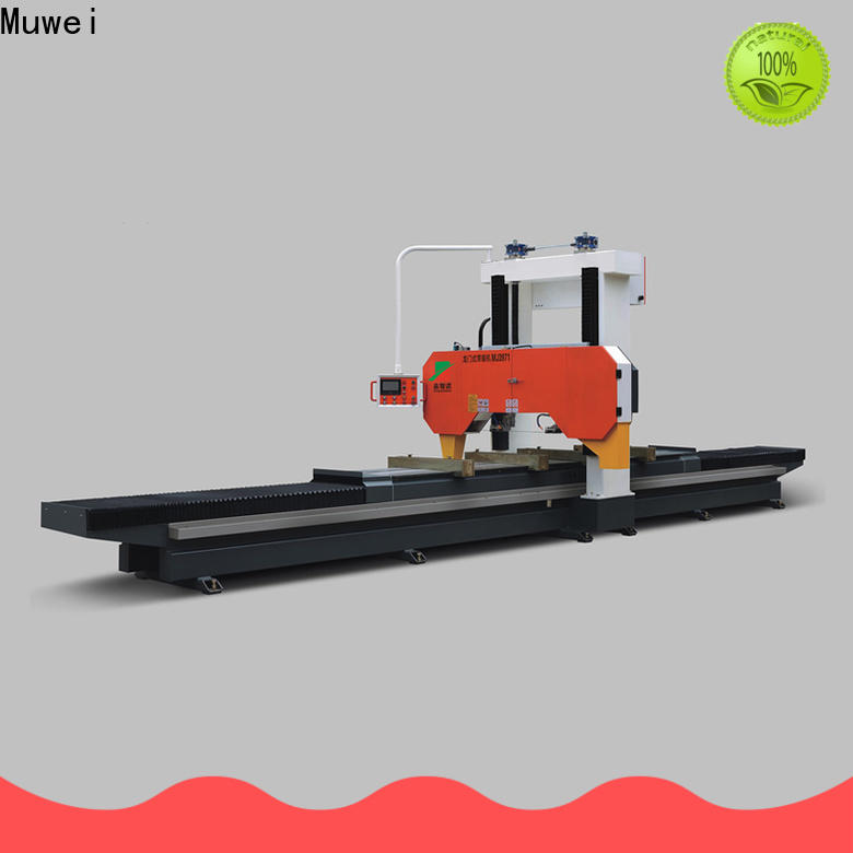 Muwei durable finger joint machine manufacturer for wood sawing
