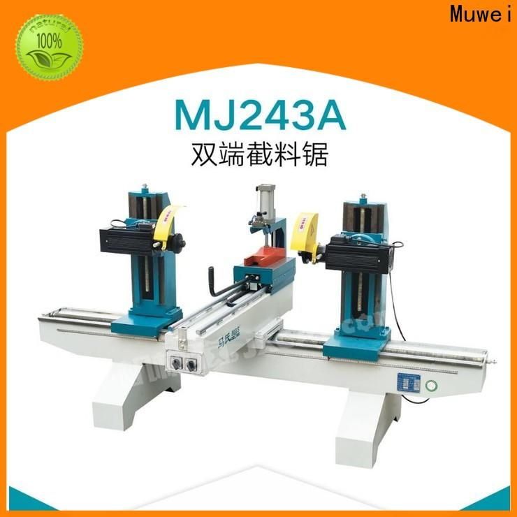 Muwei efficient sliding miter saw factory direct for frozen food processing plants