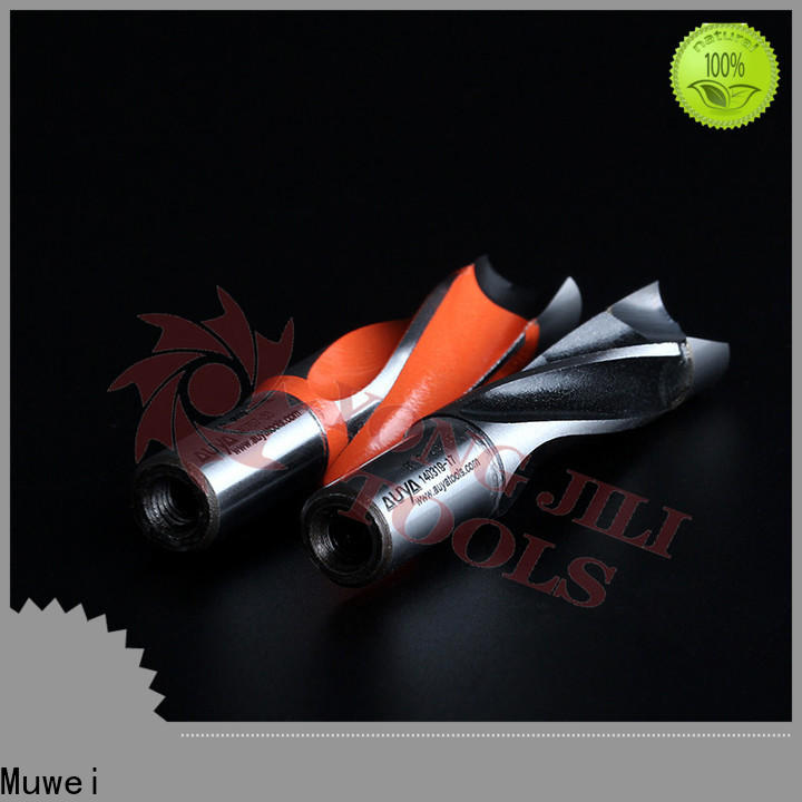 Muwei smooth surface carbide drill bits factory direct for shaping machine