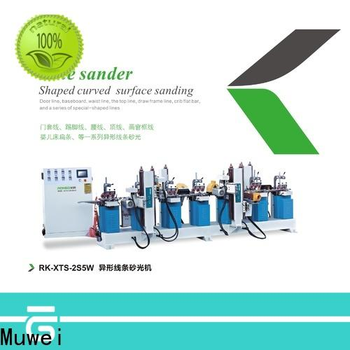 Muwei hard curve types of grinding machine factory direct for furniture