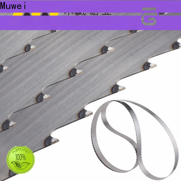 Muwei efficient 10 inch band saw blades factory direct for furniture