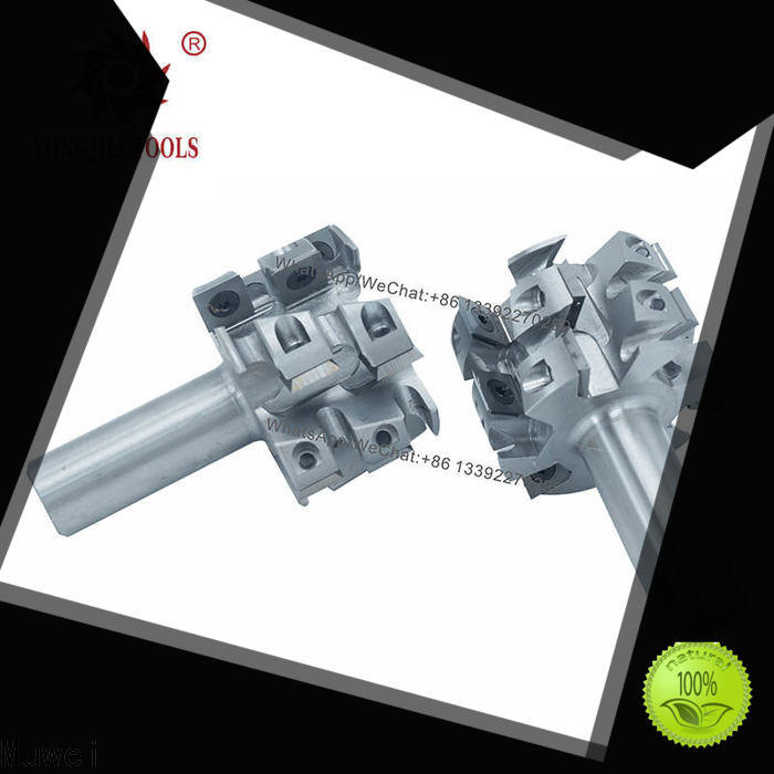 professional spiral planing shaft aluminum manufacturing for shaping machine