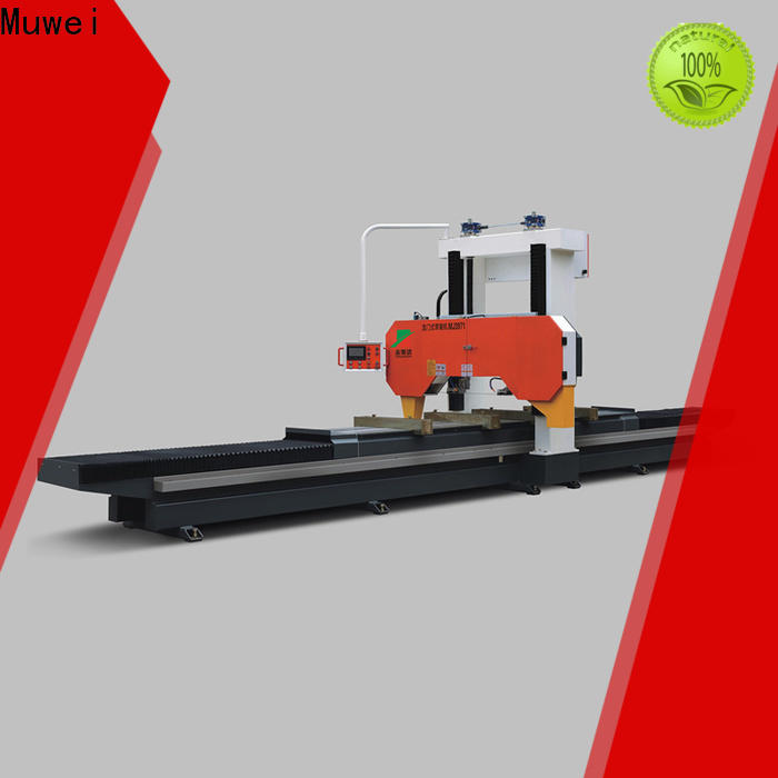 Muwei carbide alloy industrial table saw manufacturer for frozen food processing plants