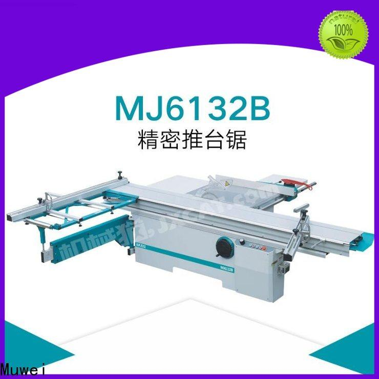 Muwei carbide sliding table saw supplier for frozen food processing plants