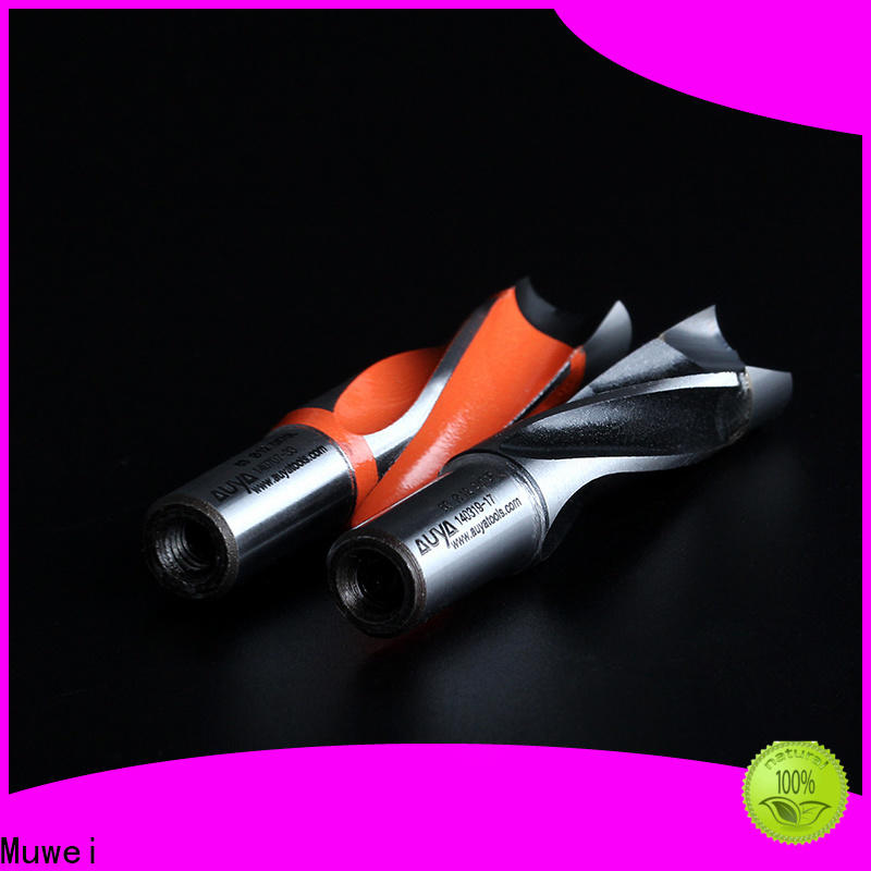 Muwei steel diamond drill bit OEM for shaping machine