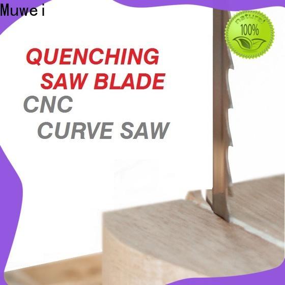 Muwei super tough craftsman 10 inch band saw blades supplier for furniture